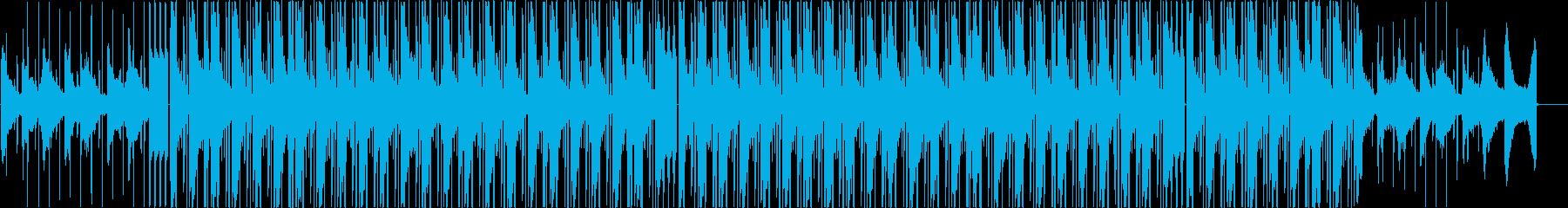 おしゃれヒップホップの再生済みの波形