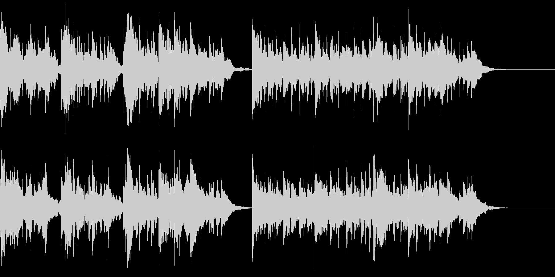 動画のBGM用に作成した小曲です。の未再生の波形