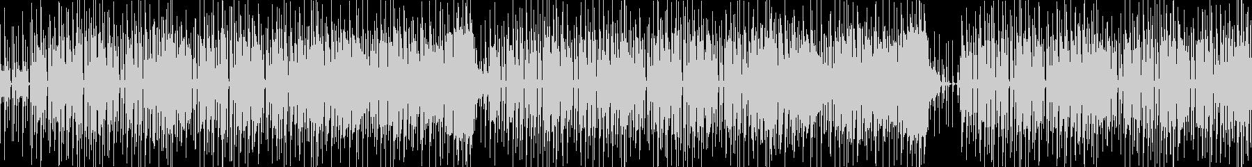 ほのぼのした雰囲気の口笛の未再生の波形