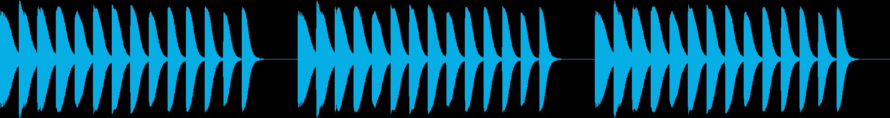 Game 懐かし昭和ゲーム台 リーチ音1の再生済みの波形