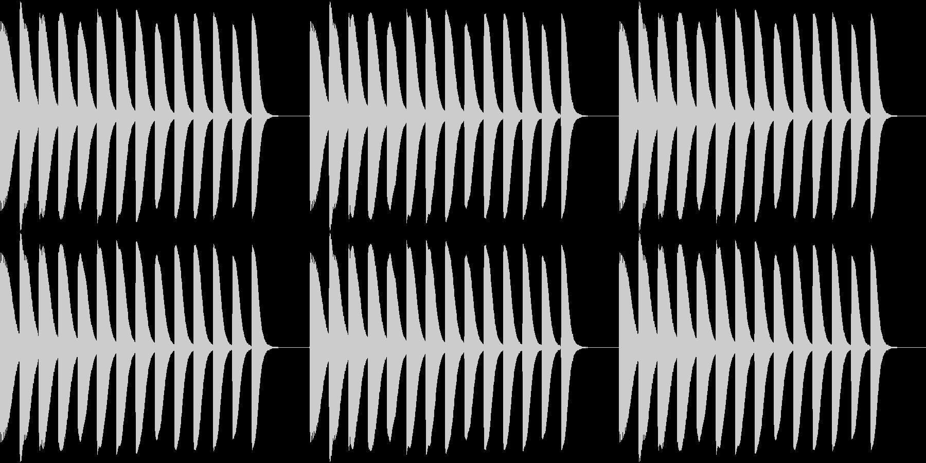 Game 懐かし昭和ゲーム台 リーチ音1の未再生の波形