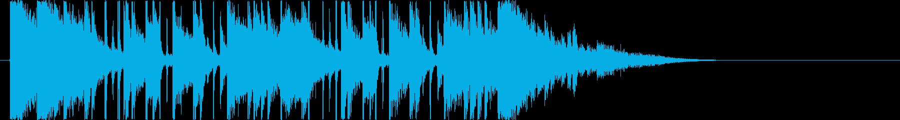 リズミカルでキャッチ―なエレキジングルの再生済みの波形