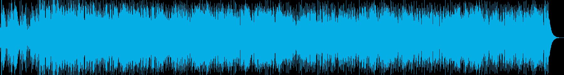 街角の音楽、奪われた自由、ブルースの再生済みの波形