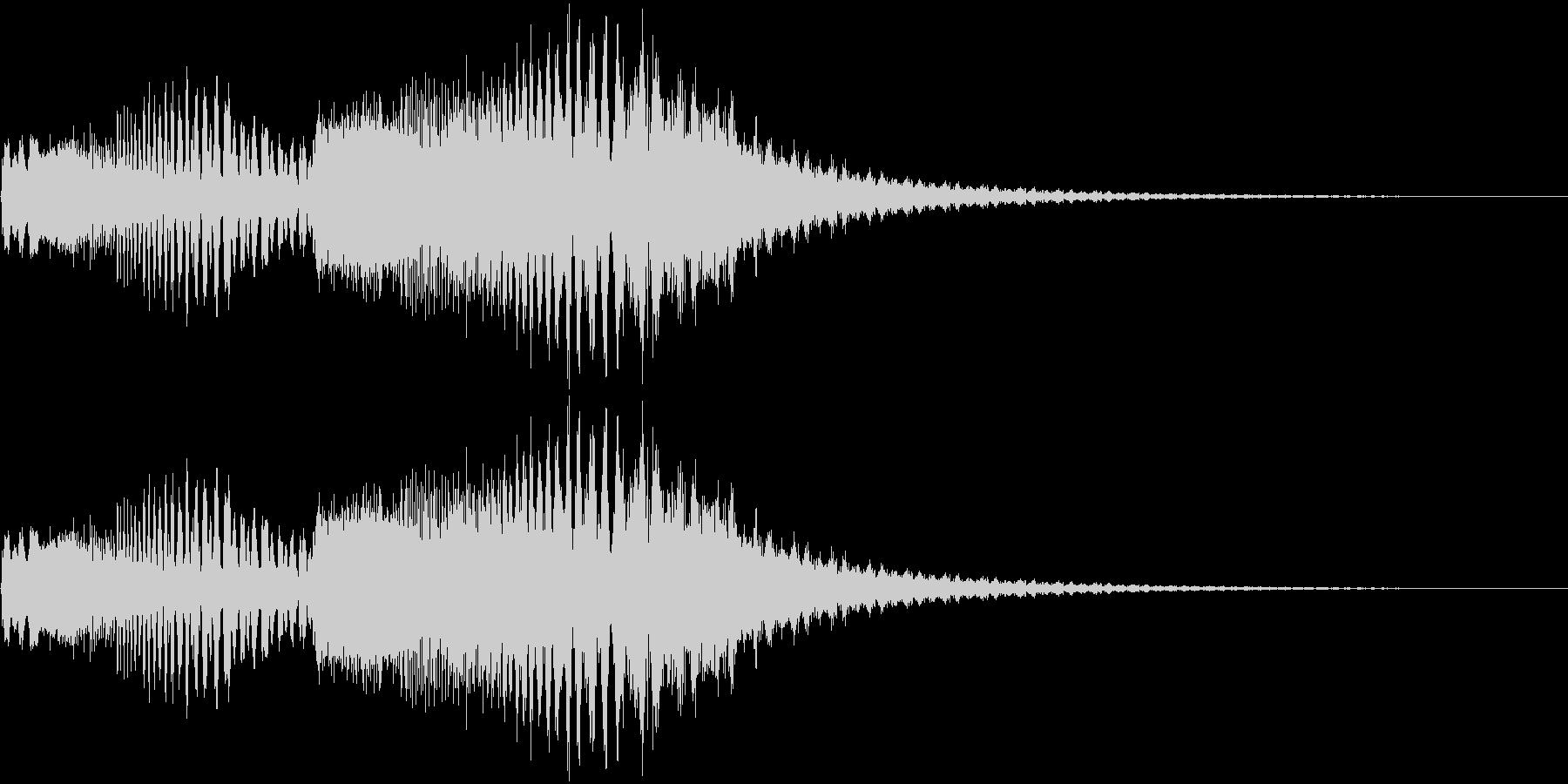 238 FXビーム音(1)の未再生の波形