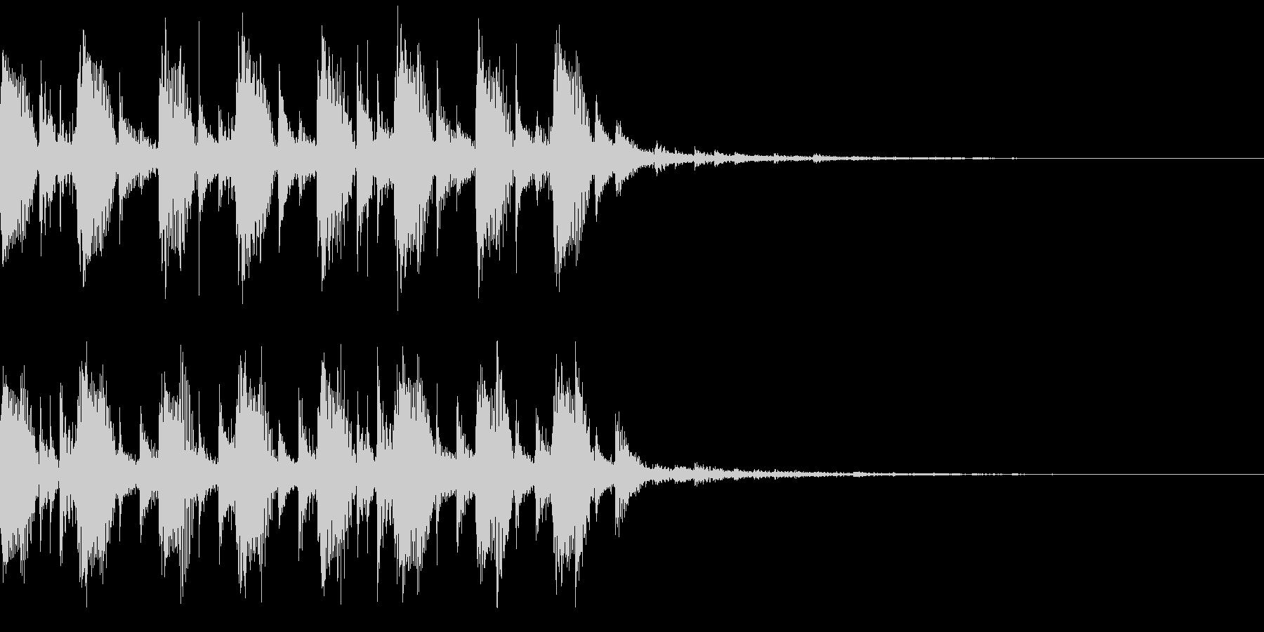 モダン・最先端・EDMジングル2の未再生の波形