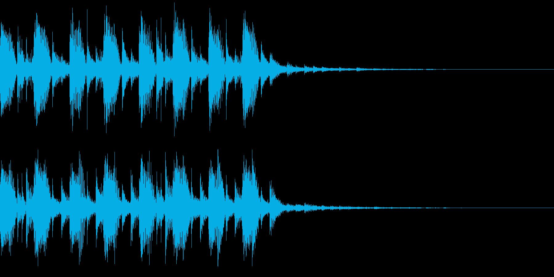 モダン・最先端・EDMジングル2の再生済みの波形