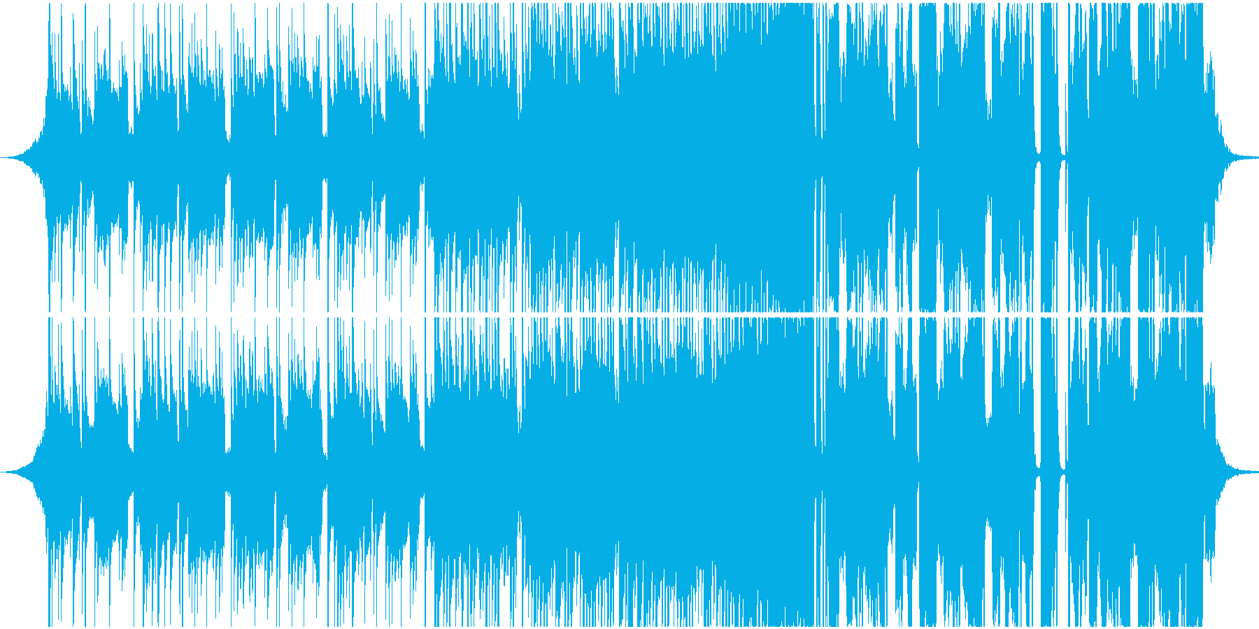 ポップ テクノ アクティブ 明るい...の再生済みの波形