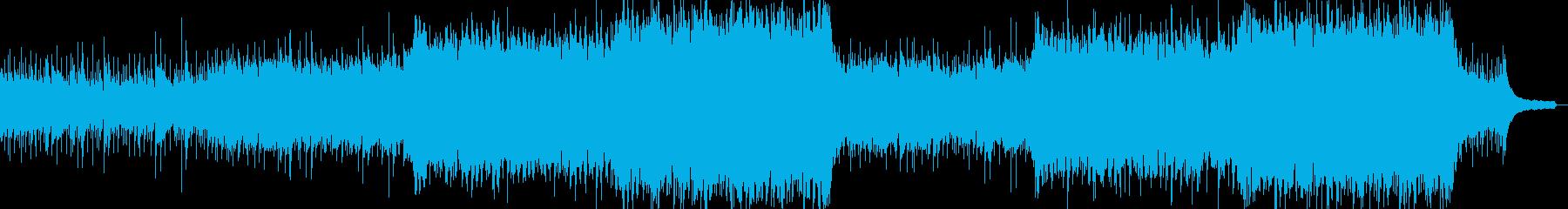 企業VPや映像42、壮大、オーケストラaの再生済みの波形