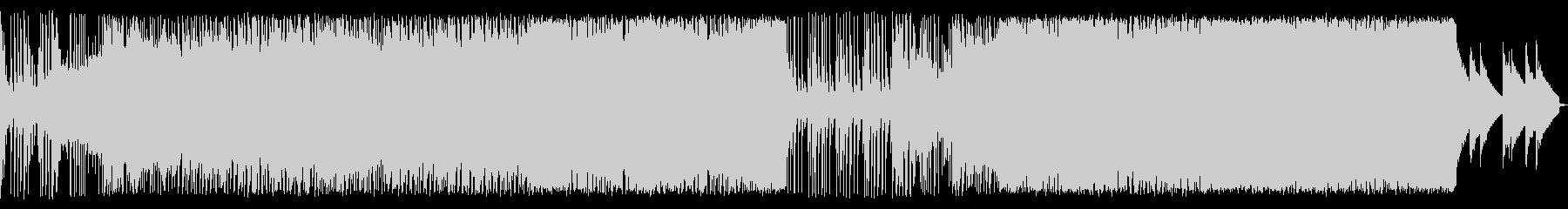 アップテンポEDM/スピード感あるBGMの未再生の波形