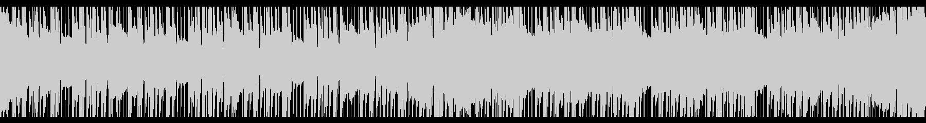 ワークアウトトラップ(ループ)の未再生の波形