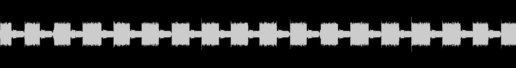 トーンバズアラームアトミックの未再生の波形