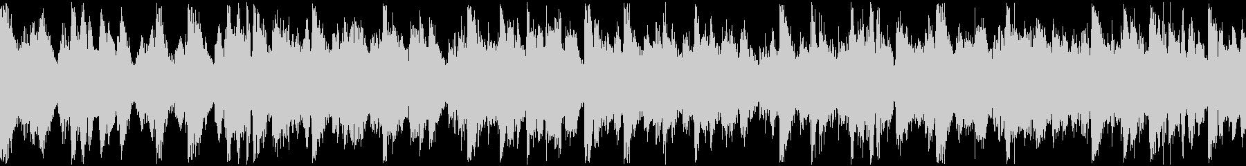 ミニマルなマリンバとストリングスのループの未再生の波形
