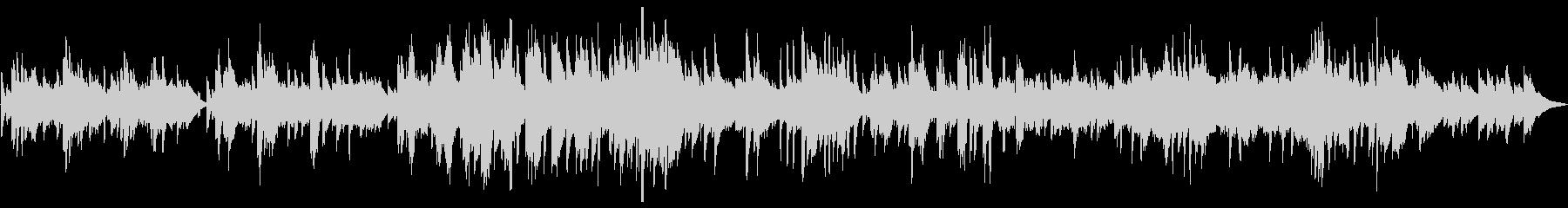 低い秋の空(ピアノソロ)の未再生の波形