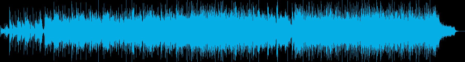 しっとりと扇情的で官能的なAORの再生済みの波形