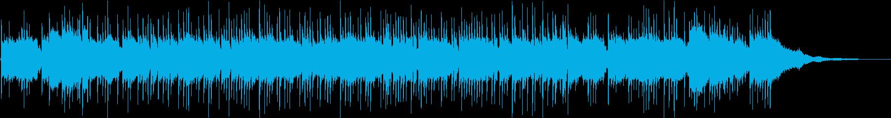 迷走のギターアルペジオの再生済みの波形