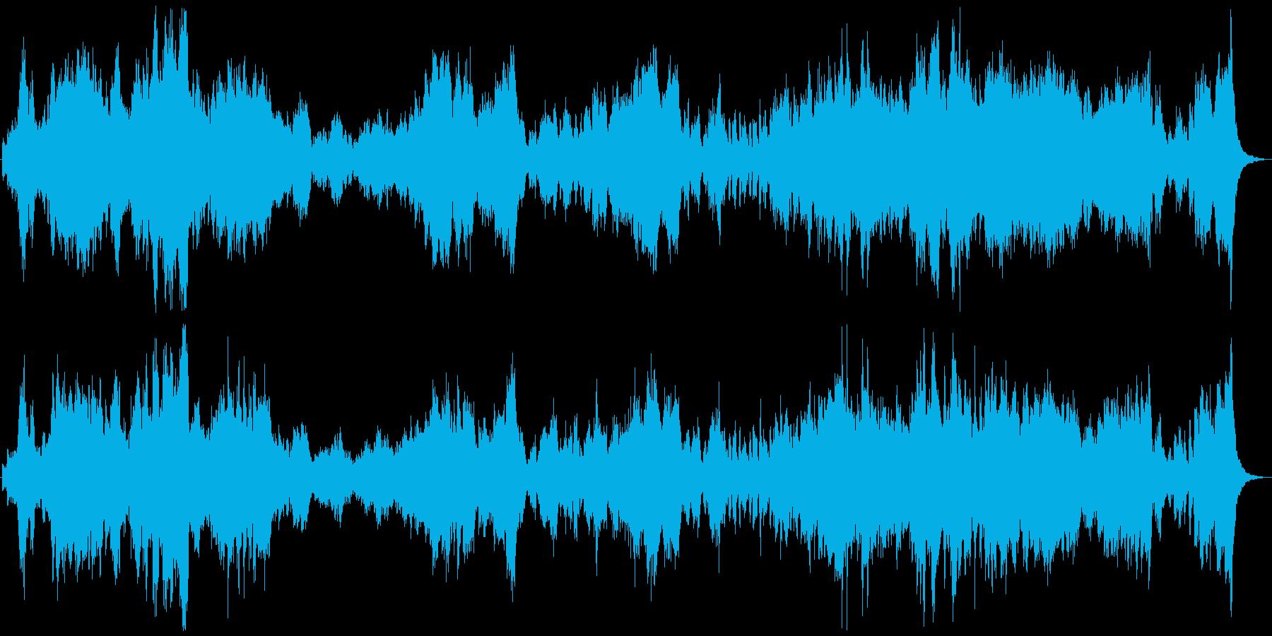 船に乗る冒険をイメージした曲ですの再生済みの波形