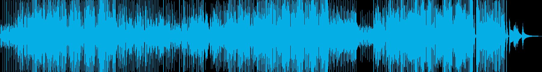 ユーモラスで軽快なジャズ+サックスの再生済みの波形