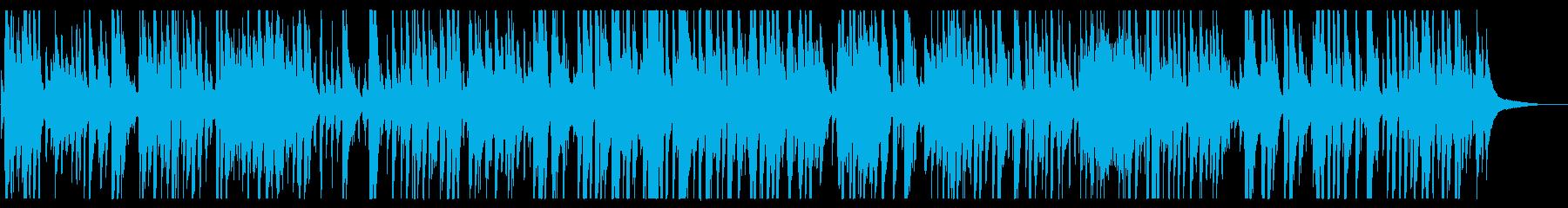 生演奏おしゃれジャズピアノBGMの再生済みの波形