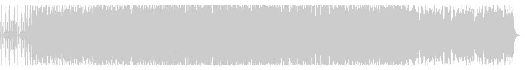 深海や洞窟をイメージしたセツナ系トラックの未再生の波形