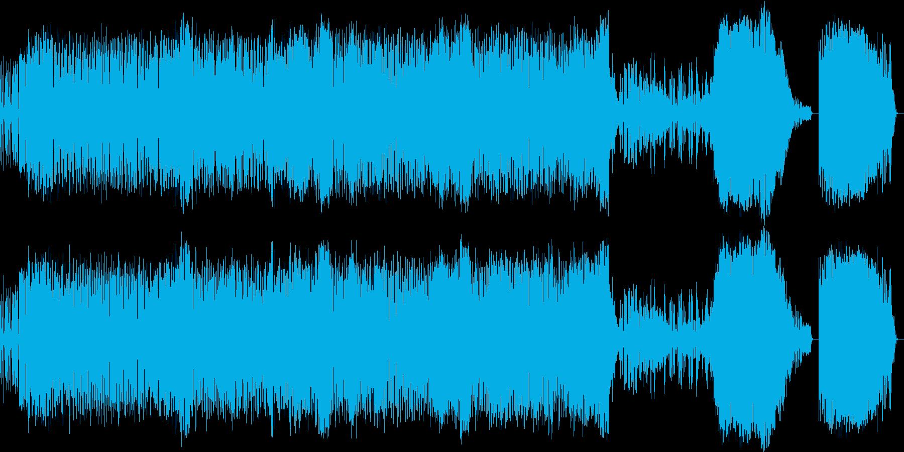 エレクトリック東北民謡の再生済みの波形
