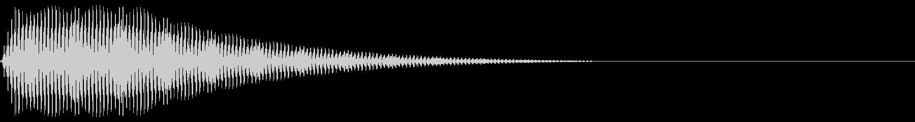 Game ブルブルブルというSE 3の未再生の波形