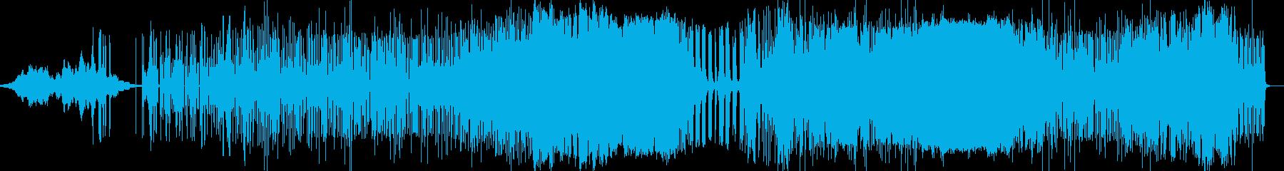 宇宙的映像エレクトロニカアンビエントの再生済みの波形