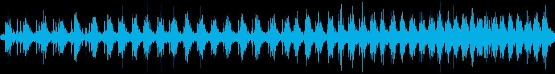 潜水艦モータースローbの再生済みの波形