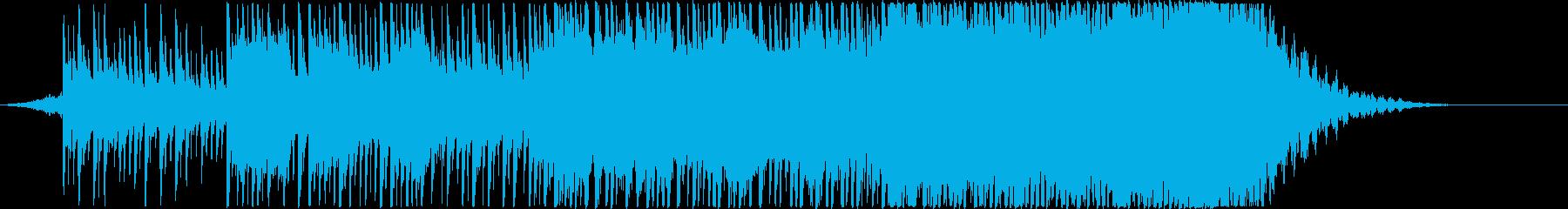 モダン テクノ 現代的 交響曲 エ...の再生済みの波形