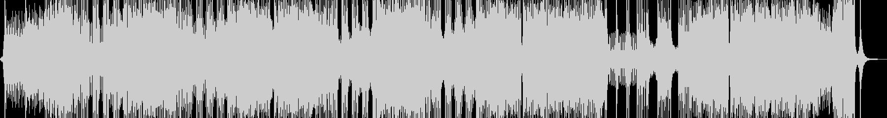 ボス戦・燃え盛るオーケストラ 長尺の未再生の波形