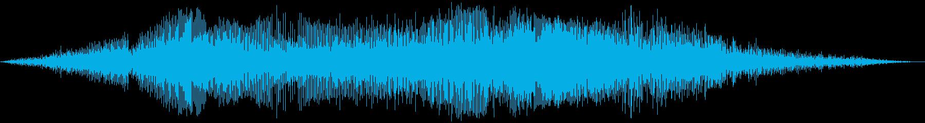ピットバイクレースの再生済みの波形