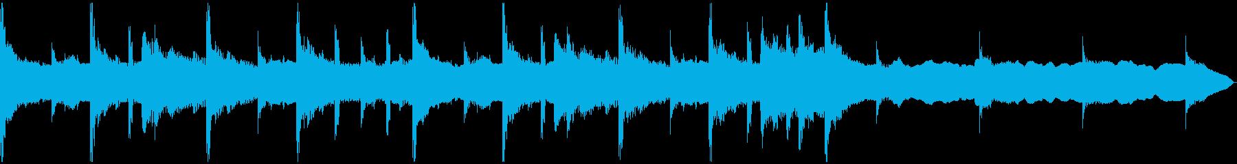 落ち着いたシンセCM1_30秒の再生済みの波形