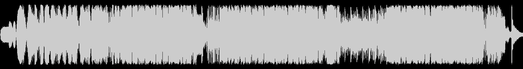 イントロスローワールドとエレクトロ...の未再生の波形