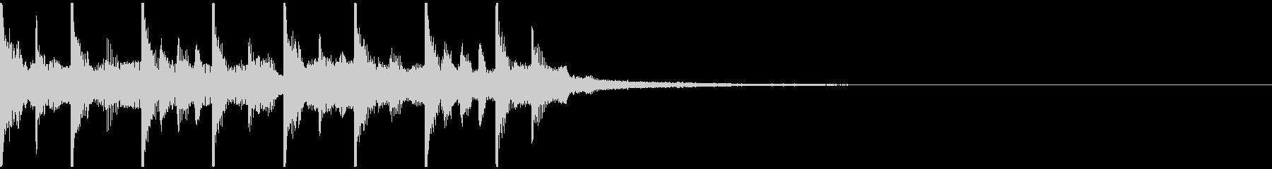 グロッケン オルガンの未再生の波形