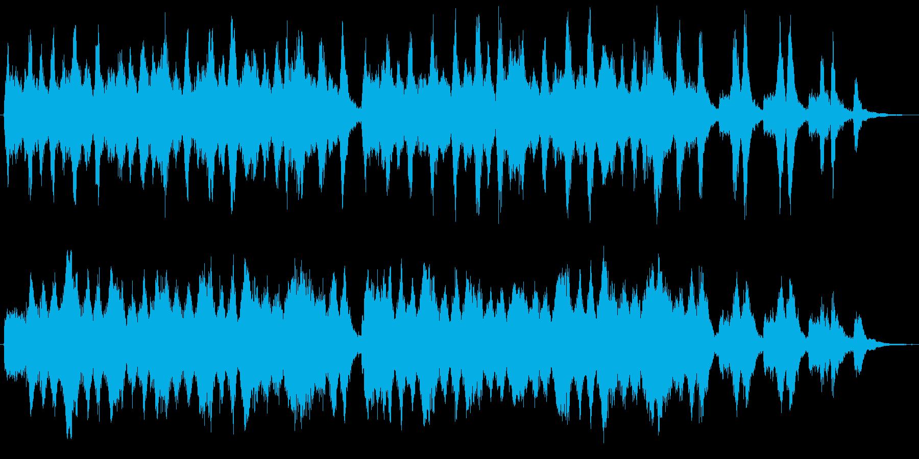 高級感・哀愁・バロック室内楽(26秒)の再生済みの波形