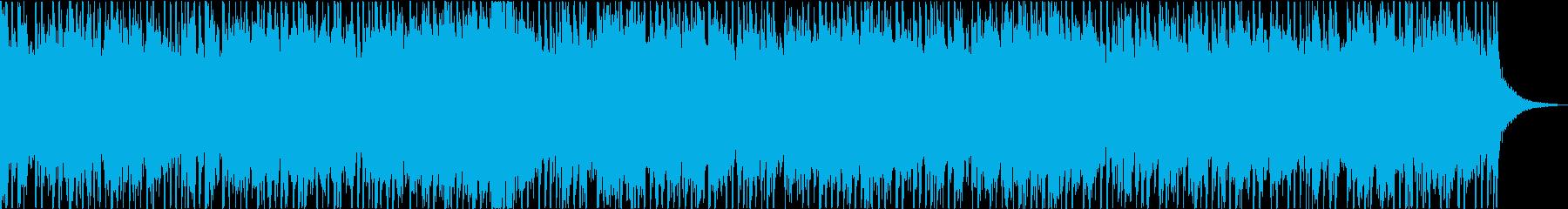 ダークで不穏・ヘヴィなエレキのメタルの再生済みの波形