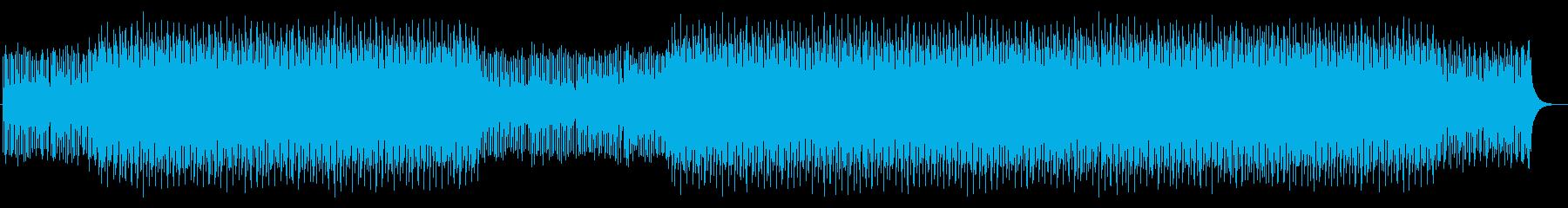 コーポレートミュージック3の再生済みの波形