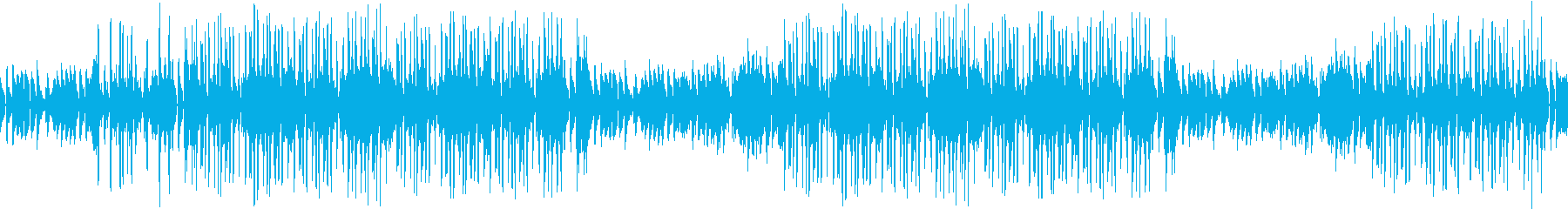 レトロ・カフェ・ピアノ・哀愁・ループの再生済みの波形