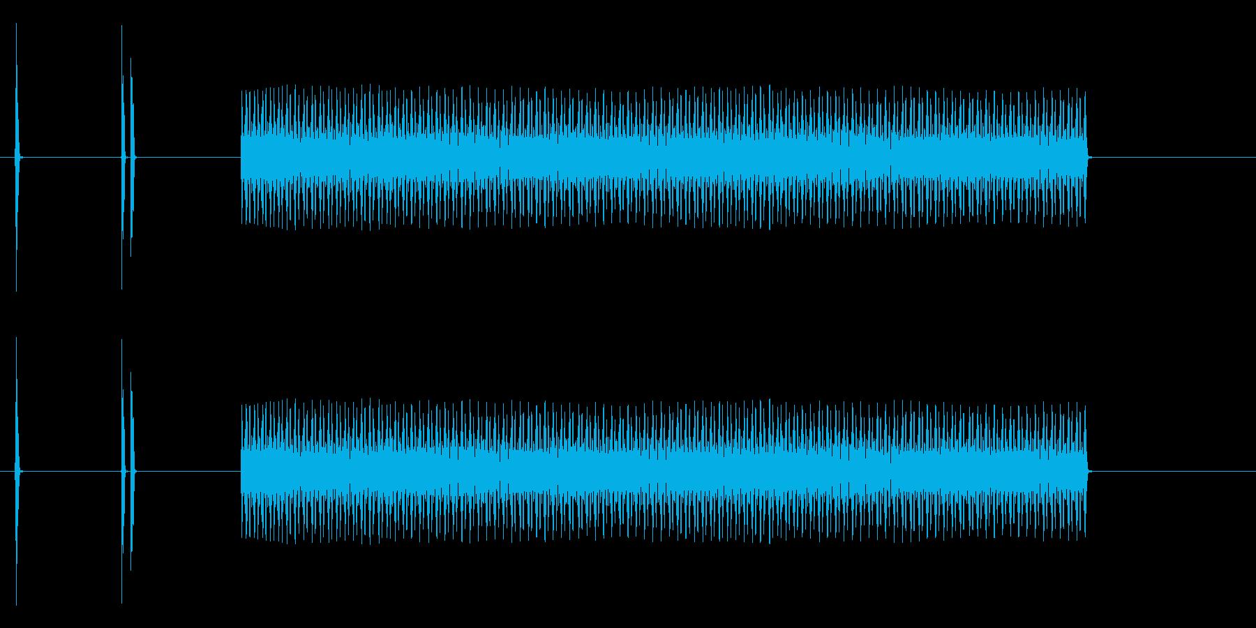盗難防止アラームの再生済みの波形