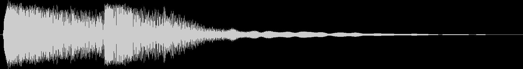 METAL PIPE IMPACT...の未再生の波形