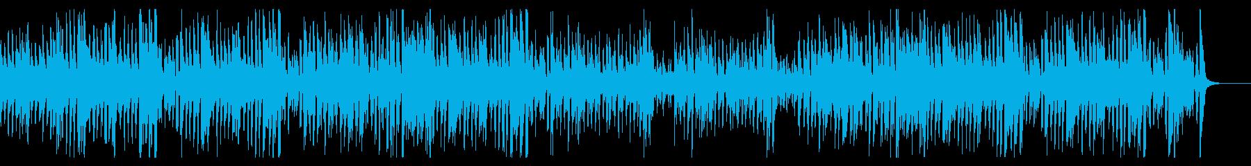 サイレント映画風コミカルフレンチジャズの再生済みの波形