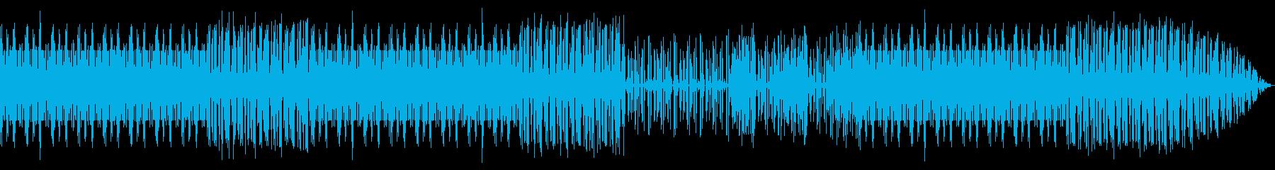 サイバーで疾走感 テクノ エレクトロニカの再生済みの波形