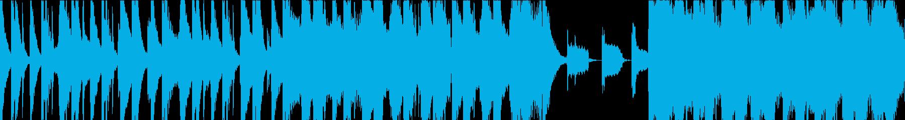 自然の厳しさを太鼓と尺八での再生済みの波形