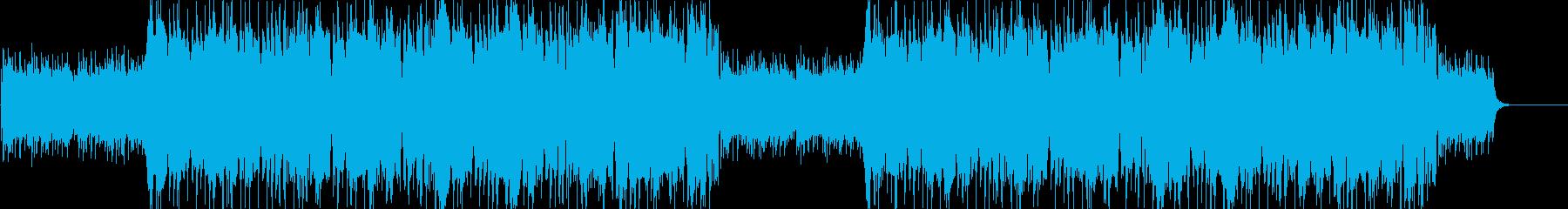 ハロウィン ホラー系ダブステップの再生済みの波形