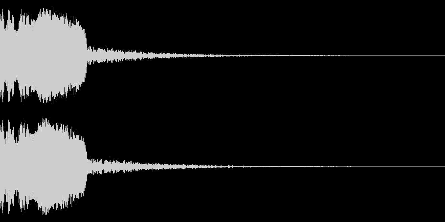 DJFX ヒットチャート発表前SE 30の未再生の波形
