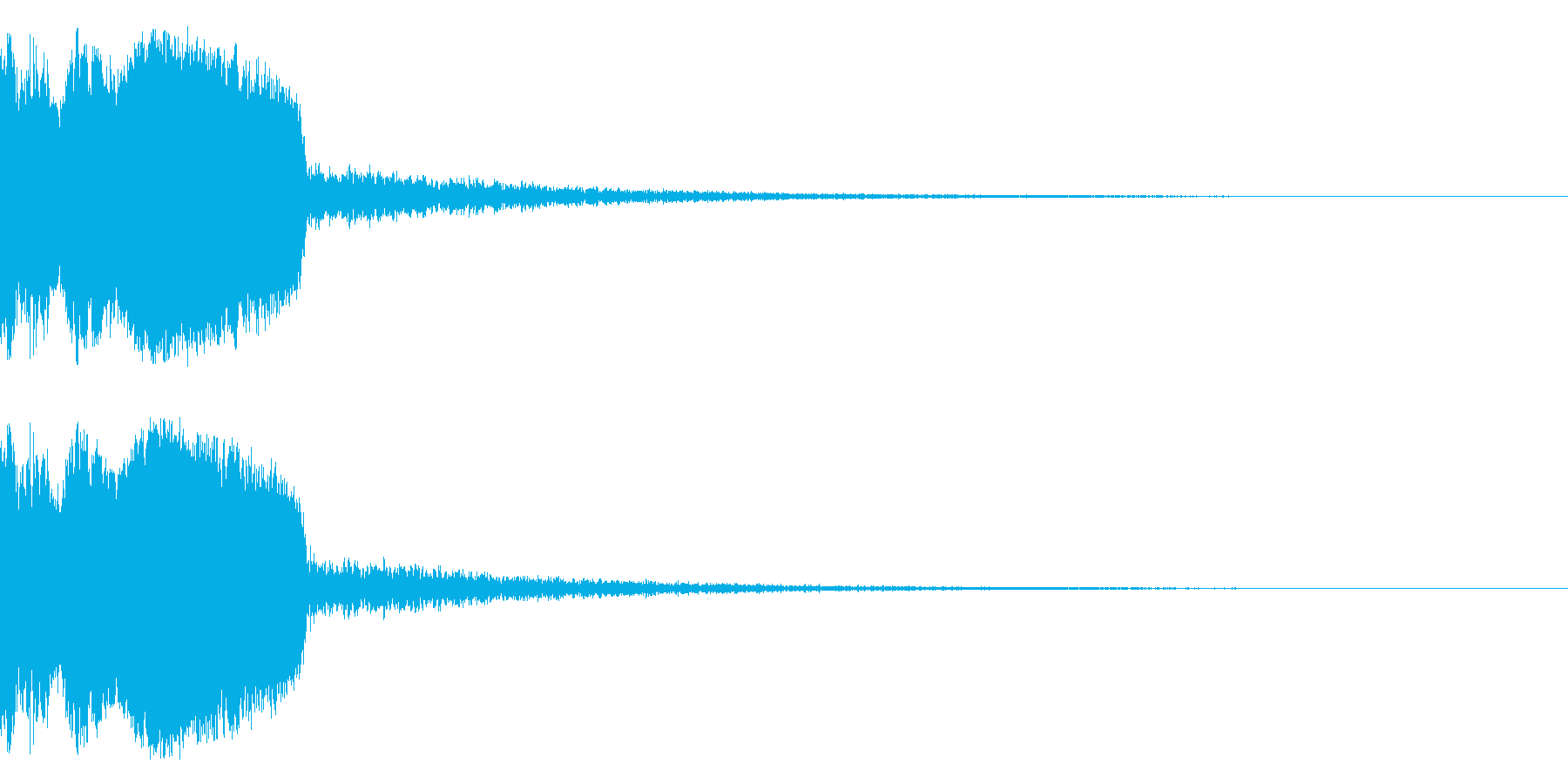 DJFX ヒットチャート発表前SE 30の再生済みの波形