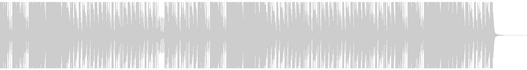 ヒップホップタイプビート2の未再生の波形