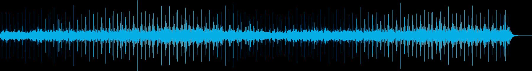 透明感のあるウクレレ生演奏ヒーリングの再生済みの波形
