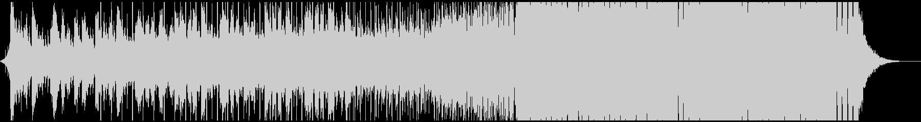 爽やかなEDM/プログレッシブハウスの未再生の波形