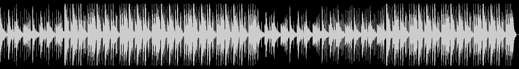 のんびりしたHiphop_No611_1の未再生の波形