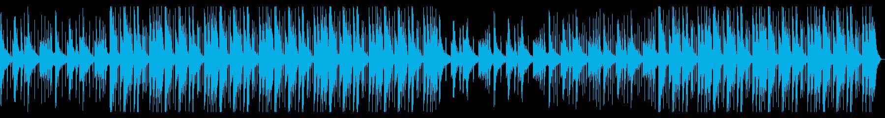 のんびりしたHiphop_No611_1の再生済みの波形